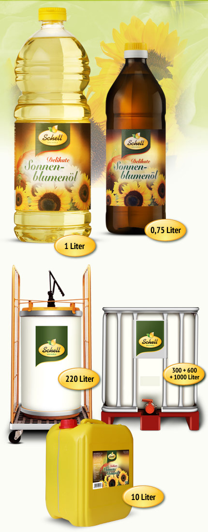 Produktabbildung Delikate Sonnenblumenöl