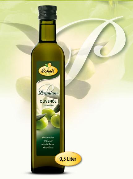 Flasche Premium Olivenöl